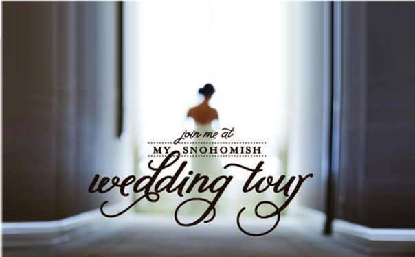 Snohomish Wedding tour 2015 banner